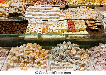 Turkish Delights from Spice Bazaar, Istanbul