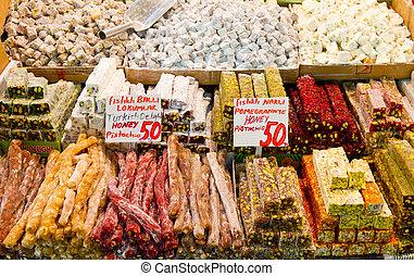 Turkish Delights in Spice Bazaar