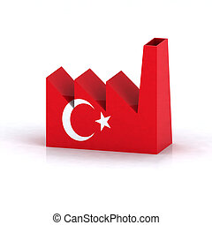 Turkish factory symbol