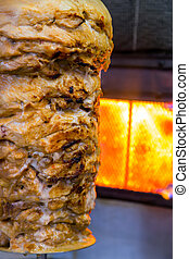 Turkish food Doner Kebab
