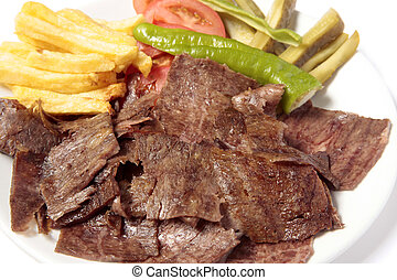 Turkish Food Kebab Plate