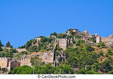 Turkish fortress in Alanya
