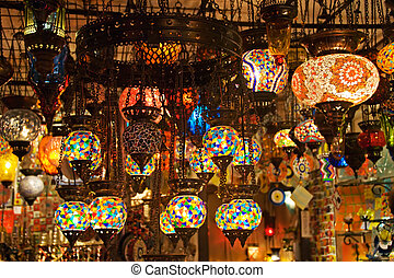 Turkish lamps - Authentic Turkish Lamps in Shop