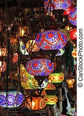 Turkish Laterns in Grand Bazaar, Istanbul