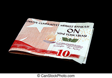 Turkish Lira - 10YTL lira note