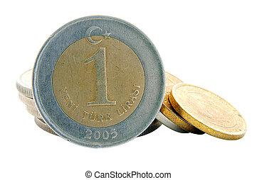 Turkish Lira - 1YTL Coin
