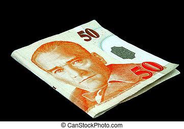Turkish Lira - 50 note