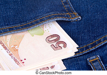 Turkish Lira on Pocket