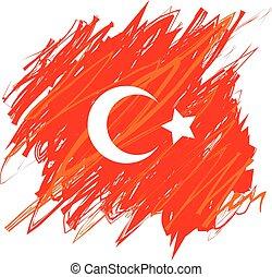 Turkish National Flag