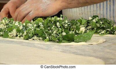 Turkish Spinach Pita