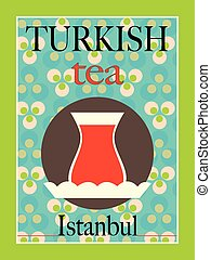 Turkish Tea Poster Design