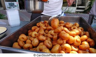 Turkish Traditional Donut Lokma