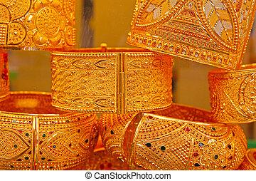 turkisk, smycken lager, in, istanbul
