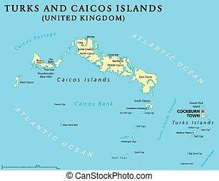 Turks and Caicos Islands Political - Turks and Caicos...