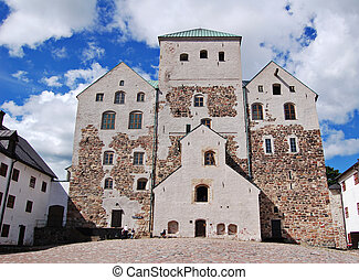 Turku castle in Finland