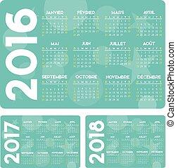 turkus, calendrier, fr