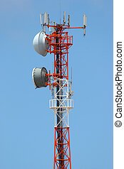 Turm, Fernmeldeverwaltungen