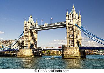 turm, london, england.