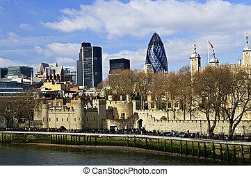 turm, london, skyline