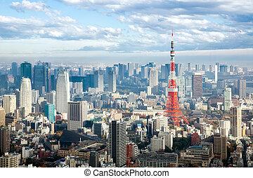 Turm,  tokyo