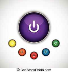 turn on button set