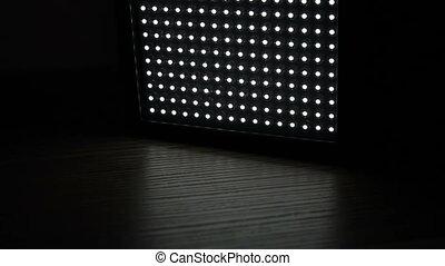 Turn on of led light panel