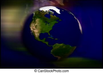 turn, world, earth