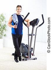 turnhalle, &, fitness