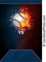 turniej, afisz, nowoczesny, lekkoatletyka, baseball, template.