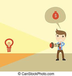 Turning ideas into money