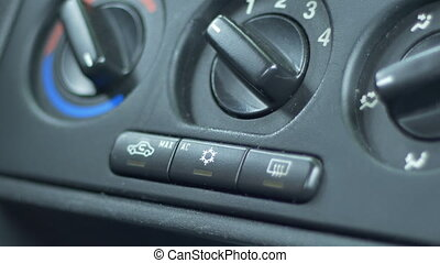 Turning On Automobile Air Conditioning