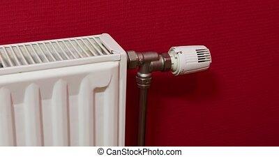 Turning on heating