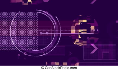 """""""Turning Systematically Futuristic Techno Backdrop"""" - """"A..."""