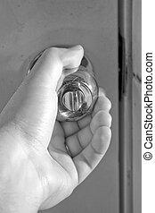 Turning the Doorknob