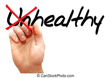 Turning the word Unhealthy into Healthy