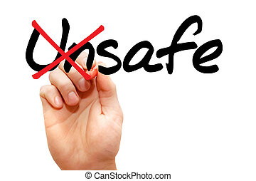 Turning the word Unsafe into Safe