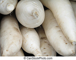 turnip for sale at the Farmers Market