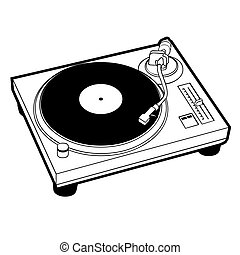 Turntable - DJ turntable