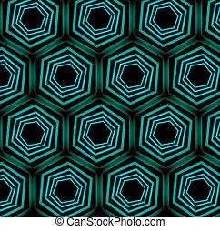 turquesa, backgrou, ilusão óptica