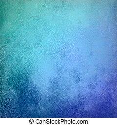turquesa, grunge, vindima, abstratos, textura, fundo