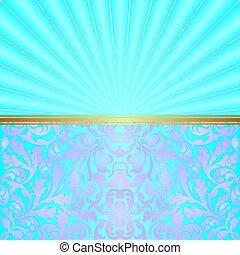 turquesa, plano de fondo