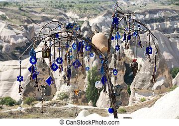 turquie, amour, national, park., goreme, vallée, cappadocia