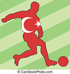 turquie, couleurs, football
