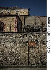 turquie, murs, historique, abandonnés,  prison