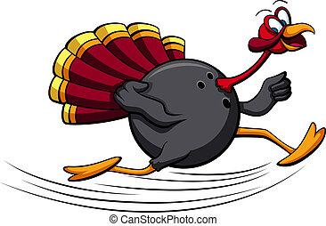turquie, thanksgiving, bowling