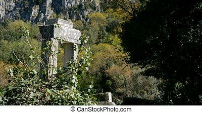 turquie, ville, ancien, thermessos, antalya