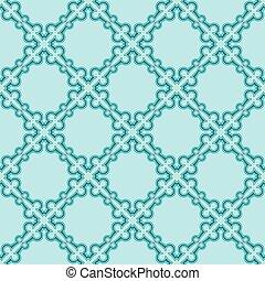 turquiose seamless pattern - Simple turquiose seamless...