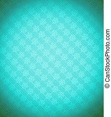 Turquoise - blue Xmas snowflake background. Stripes and...