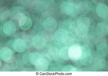 turquoise, bokeh, fond, coloré, résumé