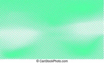 turquoise color halftone design abstract curve shape vector on blue background